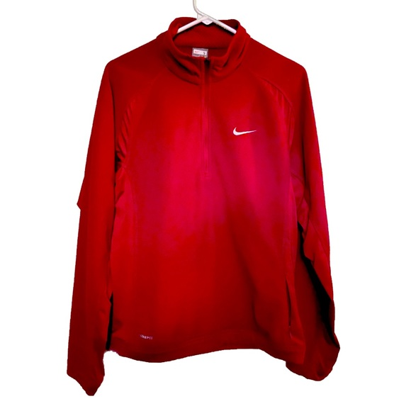 Women's Nike Fit Therma Maroon Pullover